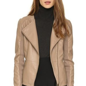 Cupcakes and Cashmere / Faux Leather Jacket